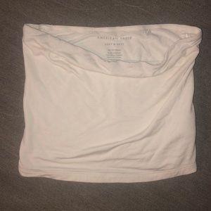 AE white tube top